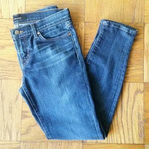 J Brand League Mid-Rise Skinny Jeans, Sz 28
